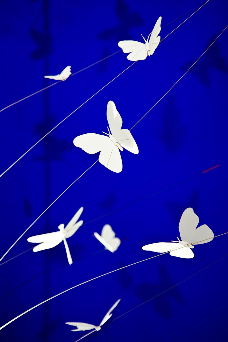 Osvětlené v podobě motýlků