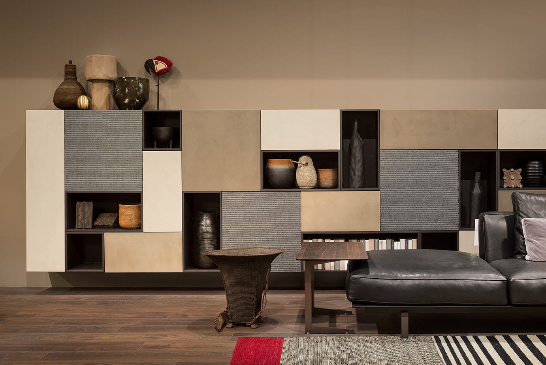 Jednoduchá obývací stěna