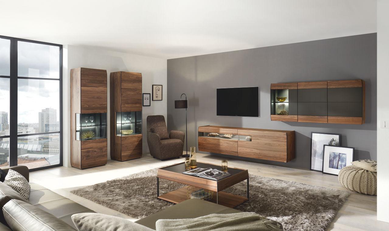 Solitérní obývací systém Aunis