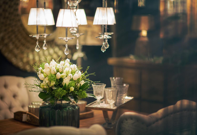 Romantické dekorace