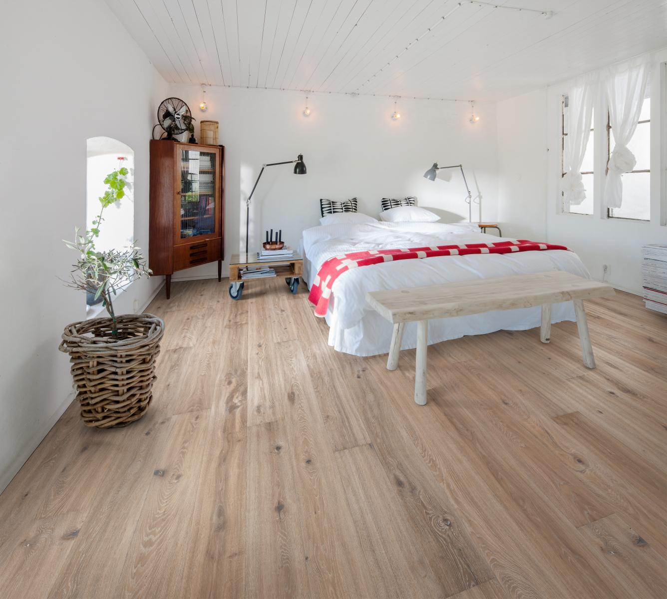 Podlaha do ložnice