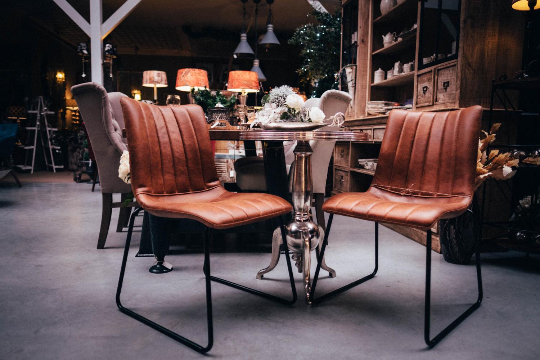 Kožené židle