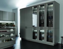 Kuchyně v krémové barvě