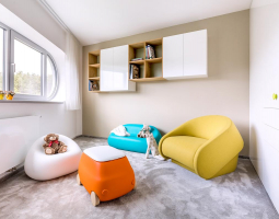 Veselý dětský pokoj díky dekoraci