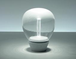 Lampa s efektem tekoucí lampy