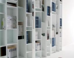 Knihovna do obývacího pokoje