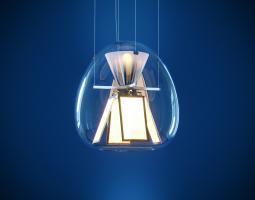 Moderní prosklené osvětlení
