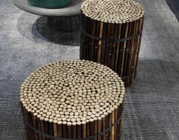 Bambusové stolky