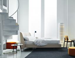 Prosvětlená ložnice