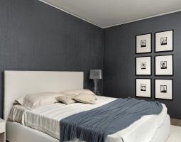 Ložnice ve stylové barvě