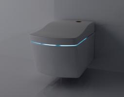 Toaletní nádoba s LED podsvícením