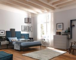 Decentní ložnice