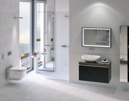 Koupelna na bílé vln