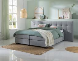 Zelenkavá postel Charleston