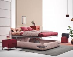 Praktická postel