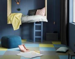 Podlaha se vzory do dětského pokoje