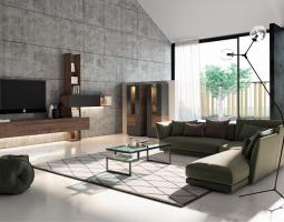 Stylový obývací systém MADERA