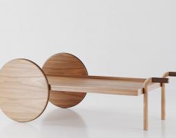 Konferenční stolek Furrow