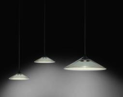 Závěsné skleněné osvětlení