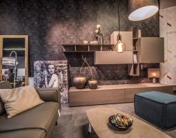 Obývací stěna Tomasela v elegantním podání