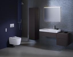 Moderní koupelna s toaletou