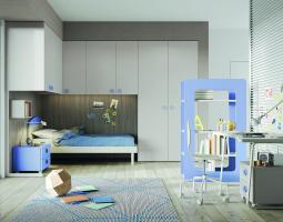 Elegantní pastelový dětský pokoj