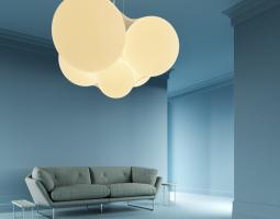 Osvětlení v podobě mraků