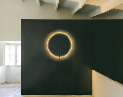 Kruhové hodinové svítidlo