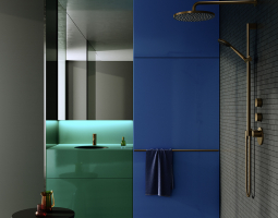 Vysoce elegantní provedení moderní koupelny