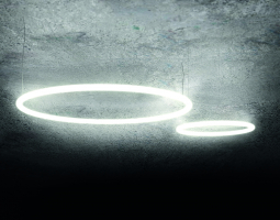 Kruhová let svítidla